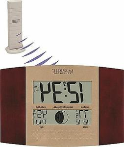 WS-8117U-IT-C La Crosse Technology Atomic Wall Clock with TX